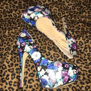 Jazzy color- Floral